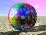Octavian LUPU - Ecoul Luminii Reflectate Multicolor in Oglinda