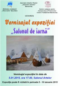 Afis Expozitie Salonul de iarna