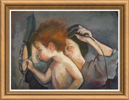 Nostimade, Ion Georgescu-Muscel, versuri, pictură, Hair dryer