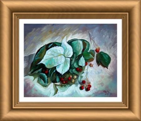 Raspberry sprig_Ion Georgescu-Muscel