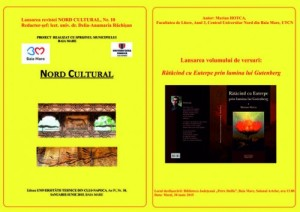 afis NORD CULTURAL, NR. 10 + vol. versuri student