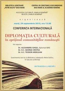 Afis Diplomatia Culturala