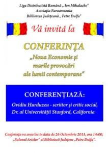 afis euroarmonia noua economie si marile provocari ale lumii contemporane - model