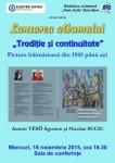 Afis Lansare album Traditie sicontinuitate