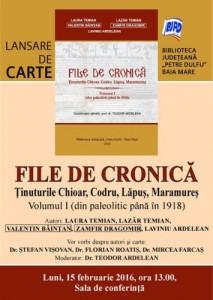Lansare Cronica MM