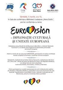 Afis conferinta EUROVIZION mare