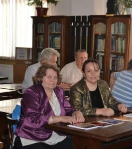 Antonia Bodea_Persida Rugu_Targu Jiu_Biblioteca Christian Tell