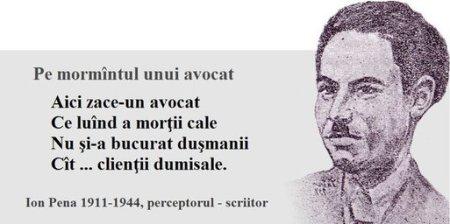 Ion Pena_epigr._Pe mormantul unui avocat