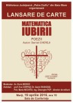 afis_lansare_carte_matematica_iubirii_Daniel Chereji