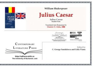 coperta_Julius Caesar_Ghika_1908