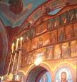 iconostas Biserica Barda
