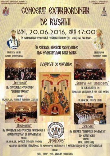 afis_concert_Rusalii 2016_Episcopie