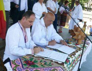 Prefectura_Ziua Bunei Vecinatati_semnare protocol