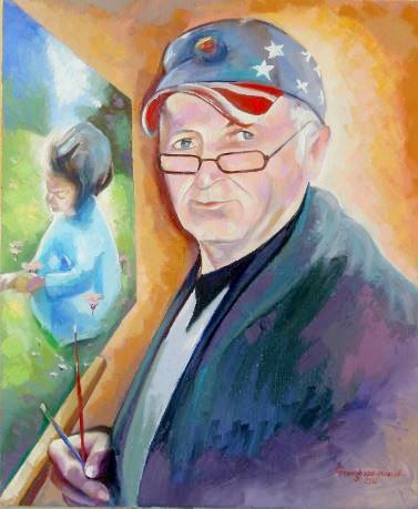 autoportret-cu-nepotica_ion-georgescu-muscel