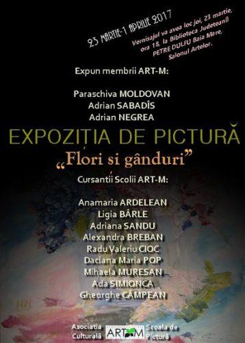 afis_art-M_expozitie Flori si ganduri