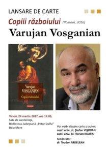 Lansare de carte_Varujan Vosganian_Copiii razboiului