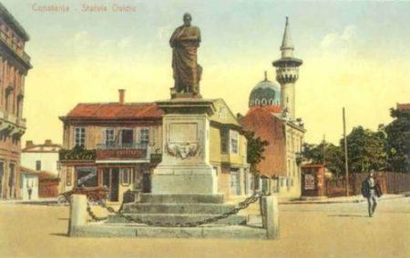 Publius Ovidius Naso_statuia_Constanta
