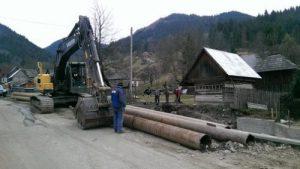 prefectul Sebastian Mihai Lupuț la Borșa