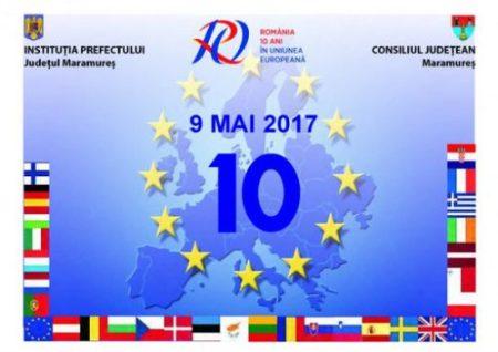 10 pentru Europa Ziua Europei_Prefectura MM