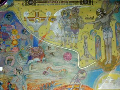 Biserica Draganescu_pictura_Arsenie Boca