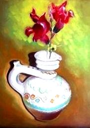 Floare rosie_Ion Georgescu-Muscel