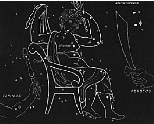 constelatia Cassiopeia