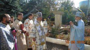 Mitropolit Petru Paduraru la Parohia Petru si Pavel Chisinau 9 octombrie 2016