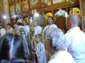 Sfanta Liturghie_Biserica Inaltarea Sf Cruci Cluj_foto Gentiana Groza