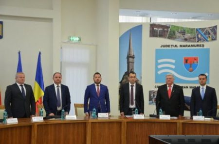 investire prefect Vasile Moldovan_subprefect Alexandru Cosma_6