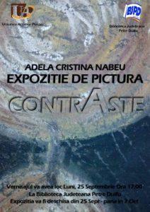afis_expozitie_Adela Cristina Nabeu
