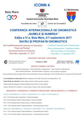 Conferinta Internationala ICONN 4 - 2017