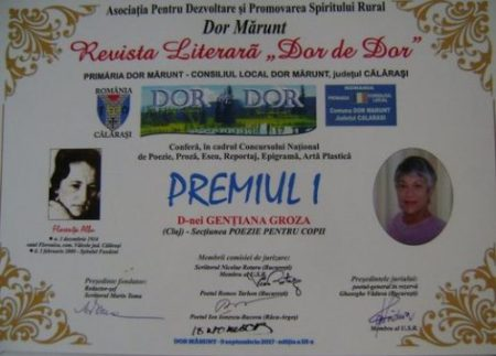 Gentiana Groza_diploma_Calarasi_2017