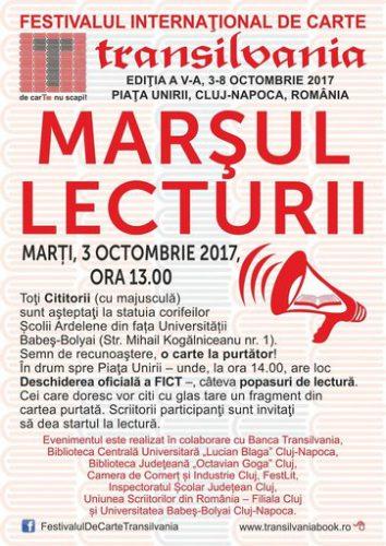 Afis Marsul lecturii 2017