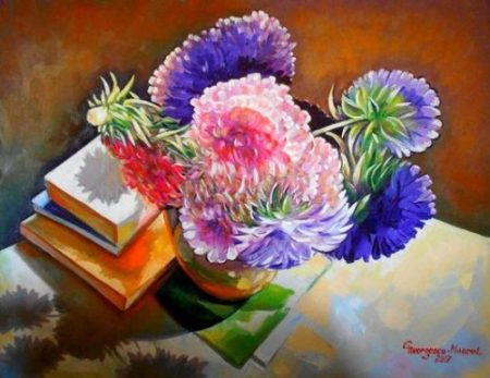 Flori din batrani_Ion Georgescu-Muscel
