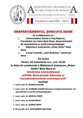 afis_Astra_Somcuta Mare