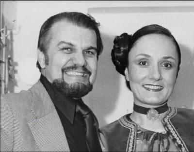 Kostas Pascalis si Marina Krilovici