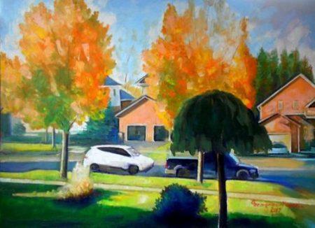 Peisaj din Canada_Ion Georgescu-Muscel