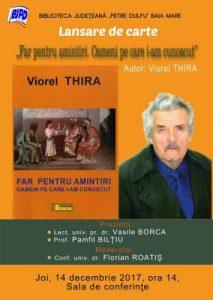 Afis_Far pentru amintiri_Viorel Thira