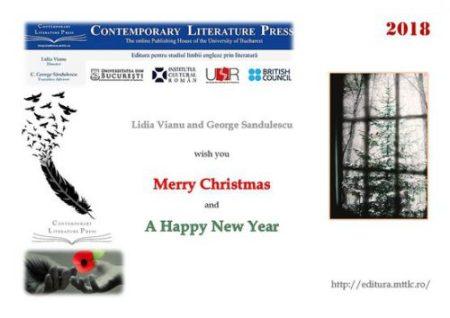 Christmas Card Contemporary Literature Press