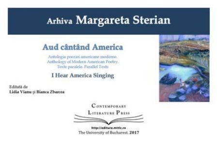 coperta_Margareta Sterian_Aud cantand America