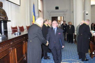 prof. Nicolae Iuga la Academia Romana