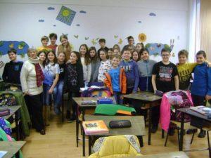 Gentina Groza la Colegiul Cosbuc Cluj_1