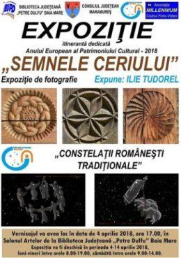 afis expozitie Comorile ceriului_Ilie Tudorel