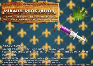 afis_Mirajul drogurilor
