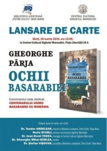 lansare_Parja_Ochii Basarabiei_Sighet