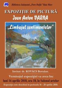 afis_expozitie_Ioan Anton Varna_Limbajul sentimentelor