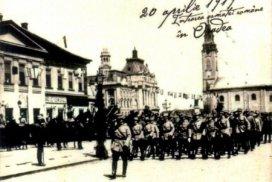 intrarea Armatei Romane in Oradea_19 apr. 1919