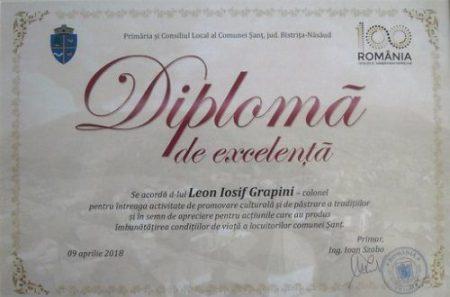Leon-Iosif Grapini_diploma de excelemta_Sant_BN