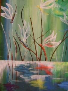 pictură realizată de Ada GROZA