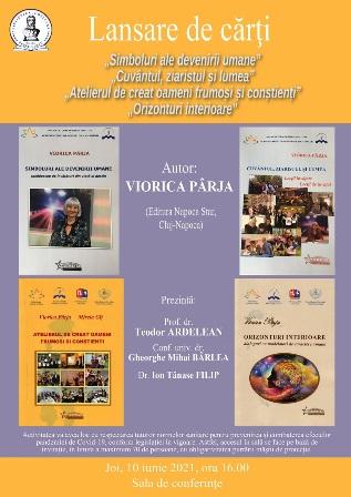 Afis Lansare carti Viorica Parja-pre